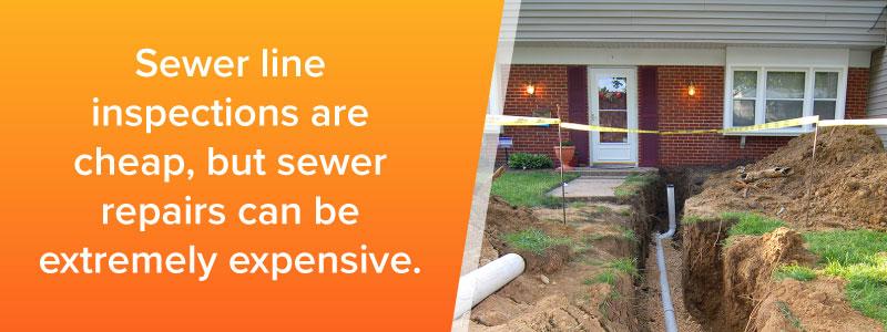 Sewer Scan and Sewer Line Inspection - Colorado Springs, Castle Rock, Denver, Pueblo